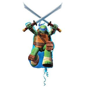 Support à décorer Ba22074 Ballon Tortues Ninja Leonardo Super Shape