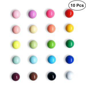 Frigos et Bureaux couleurs assorties x 7 PUISSANT magn/étique punaises aimants en N/éodyme m/émos tableaux blancs parfait pour cartes