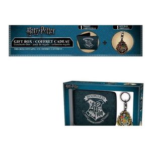 PORTEFEUILLE HARRY POTTER - Coffret Cadeau (Wallet + Keyring) -