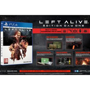 JEU CONSOLE RÉTRO Left Alive Day-One edition