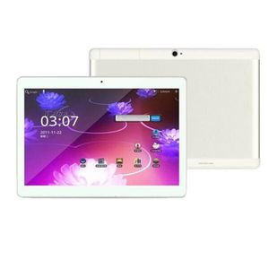 TABLETTE TACTILE  ARGENTE 10.1Pouces Tablette PC Mic WIFI Android 6