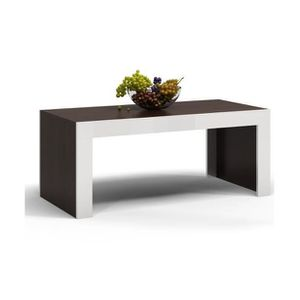 TABLE BASSE Table basse pour moderne salon 60x120x50 Deko D1 W