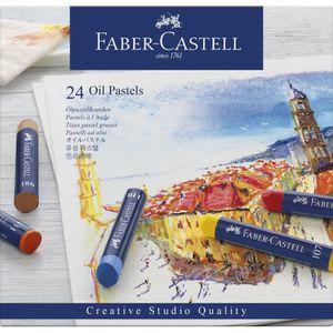 PASTELS - CRAIE D'ART FABER-CASTELL 24 Pastels à l'huile Studio Quality