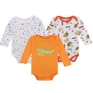 Ensemble de vêtements 3pcs nouveau-né enfant en bas âge bébé garçons ten