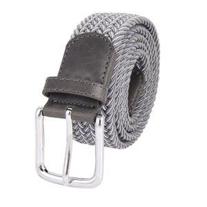 Élastique Ceinture Pour Hommes Tissé Tressé Tissu Comfort Stretch Loisirs en métal 160 cm