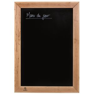 tableau menu ardoise achat vente tableau menu ardoise pas cher cdiscount. Black Bedroom Furniture Sets. Home Design Ideas