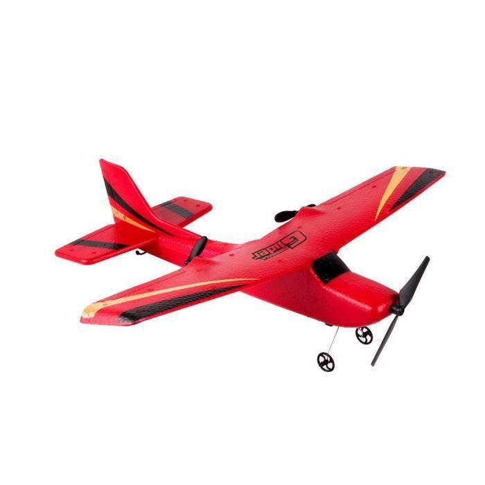RC Télécommande Hélicoptère Planeur Avion Avion EPP mousse 2CH 2.4G Jouets @1385