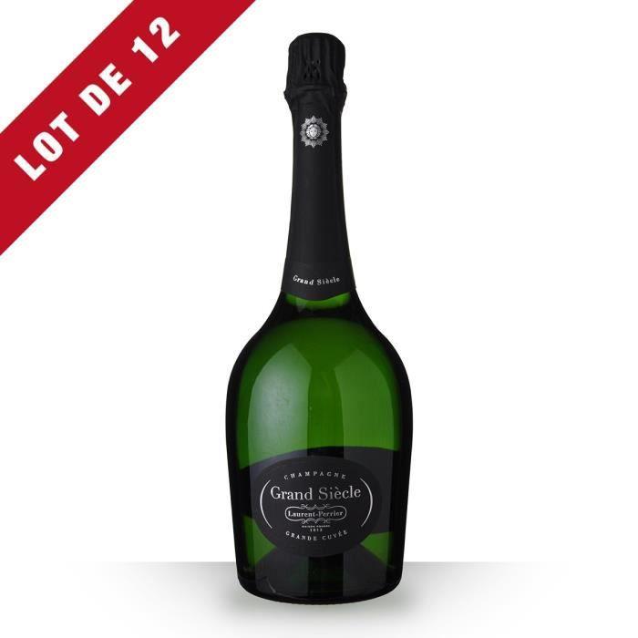 12X Laurent-Perrier Grand Siècle Brut 75cl - Champagne