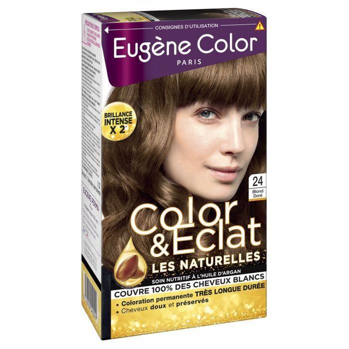 EUGENE COLOR Crème Colorante permanente N24 Blond Doré