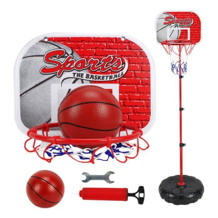 1Pc Basketball Stands Durable Liftable Pratique Créatif Jouet Hoop Tir Cadre pour PANIER DE BASKET-BALL - PANNEAU DE BASKET-BALL