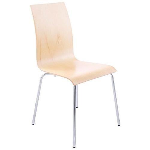 CLASSIC - Chaise de cuisine en bois naturel