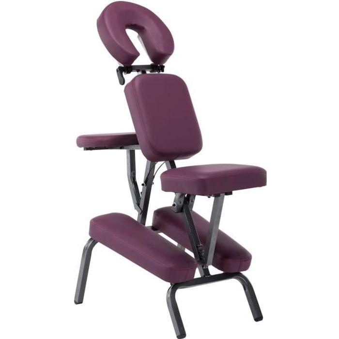 ♕5288Haute qualité- Fauteuil de massage Siège de Massage confortbale- Tabouret de Coiffure Chaise de Massage moderne salon - Simili