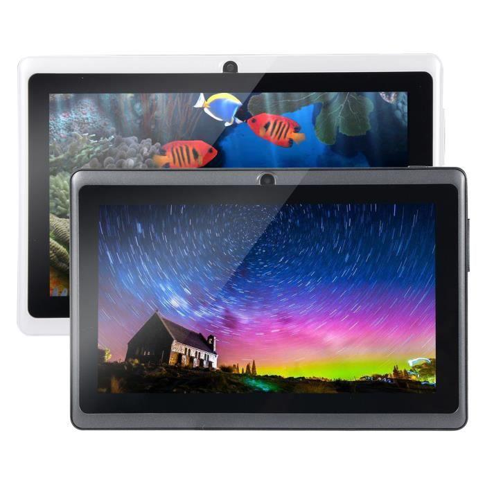Tablette Tactile PC 7,0- HD WiFi A33 Quad Core 512Mo RAM + 4Go ROM 2200mAh Tablet PC Noir -Vendeur Comp