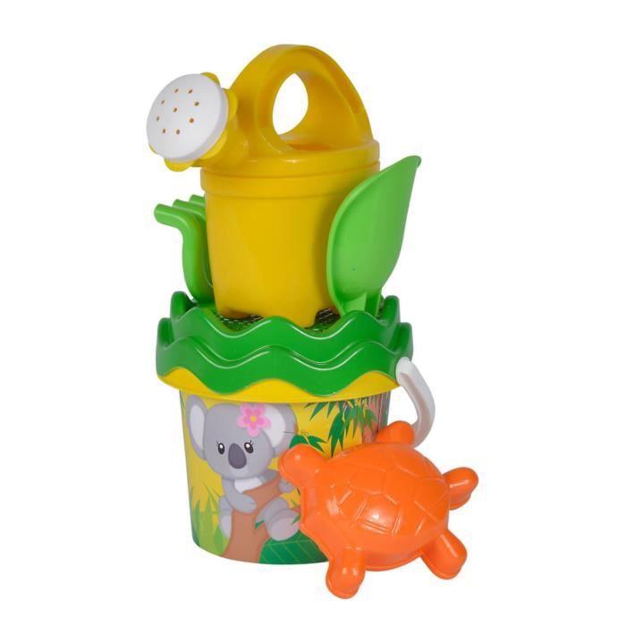 Jeu de plage Simba Toys 107114509 Ensemble de seau bébé Koala avec accessoires