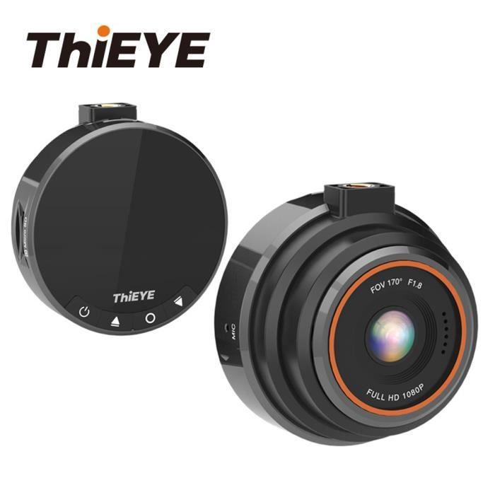 THiEYE Dash Cam 1080 P Full HD voiture DVR tableau de bord caméra enregistreur avec Super large dashcam double arrière camion regist