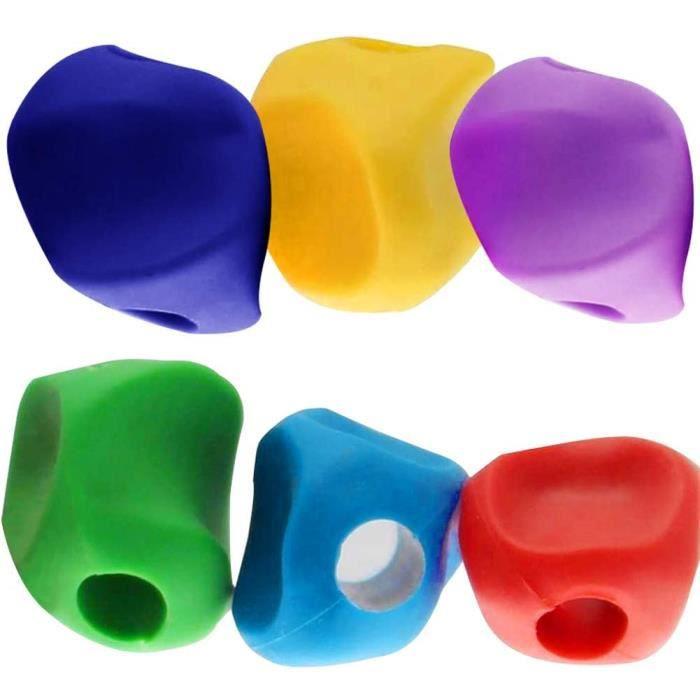 Crayon Grip, NALCY 18 Pièces Guide Doigt Grips, Porte Crayon Enfant Crayon Silicone Pencil Grips Ergonomique Aide Ecriture pour ,557