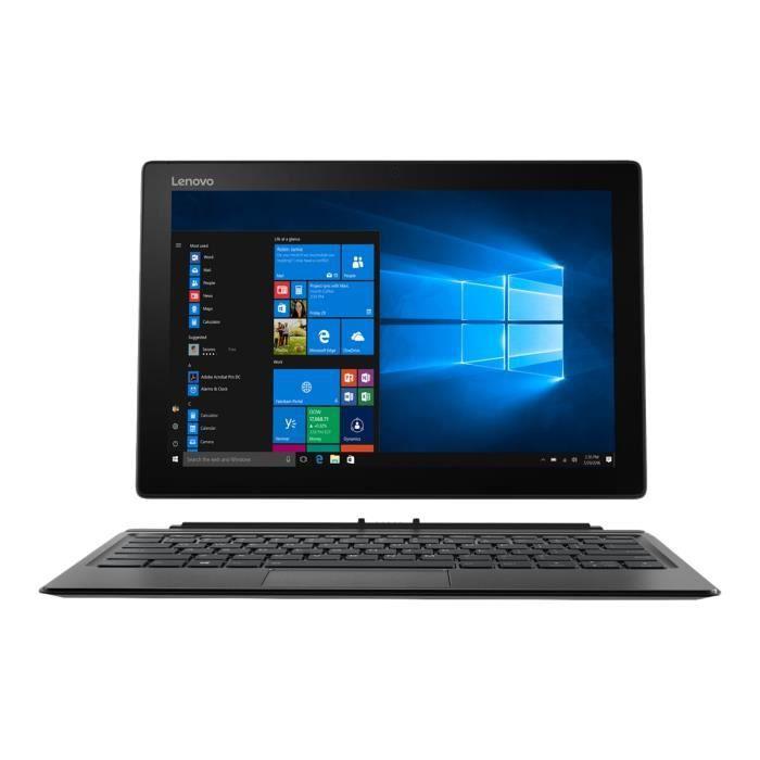 Lenovo Miix 520 12Ikb 20M3 Tablette avec clavier détachable Core i3 7130U 2.7 Ghz Win 10 Pro 64 bits 4 Go Ram 128 Go Ssd Nvme...