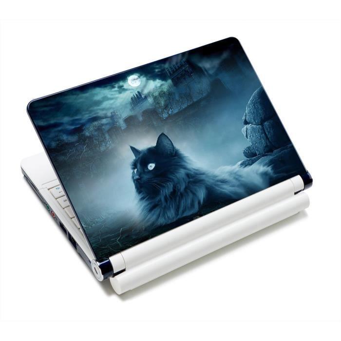 Luxburg Autocollants Sticker pour ordinateur portable 10 12 13 14 15 pouces Cat and rocks