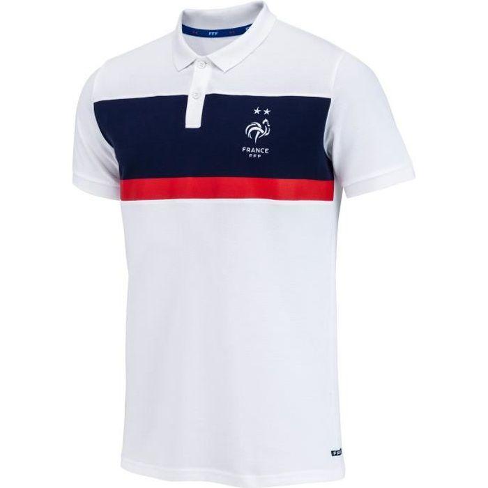 Polo FFF - Collection officielle Equipe de France de Football - Taille Homme L