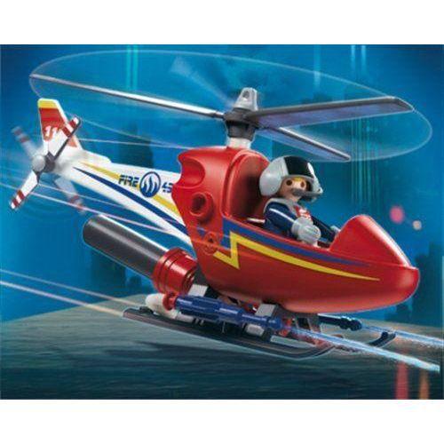 Playmobil - Figurine - Hélicoptère de Pompier