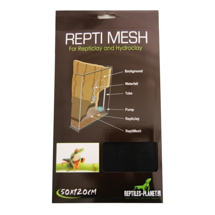 Repti Mesh pour Reptile/Amphibien 50 x 120 cm REPTILES-PLANET