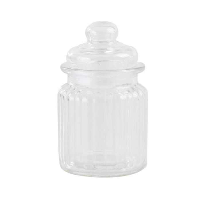 Récipient de sucrerie d'épice de café de stockage de pots de verre transparent de 1350ml PORTE MONNAIE