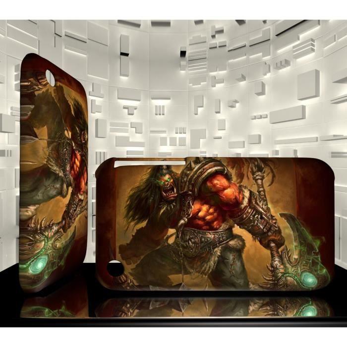 Coque Iphone 3G 3GS JVF World of Warcraft WOW 67 G