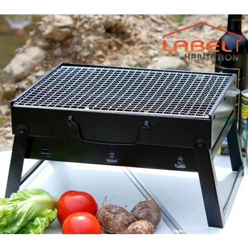 barbecue charbon de bois portable lbh jardin 1038 achat vente barbecue barbecue charbon de. Black Bedroom Furniture Sets. Home Design Ideas