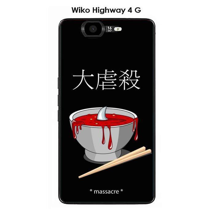 Coque Wiko Highway 4G design Massacre