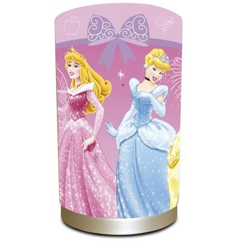 lampe de chevet disney princesse achat vente lampe de. Black Bedroom Furniture Sets. Home Design Ideas