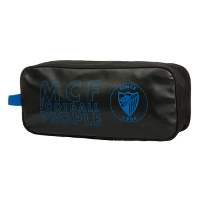cc15dd70dbc308 MALAGA FOOTBALL CLUB - Sac à chaussures sport noir MALAGA FOOTBALL CLUB