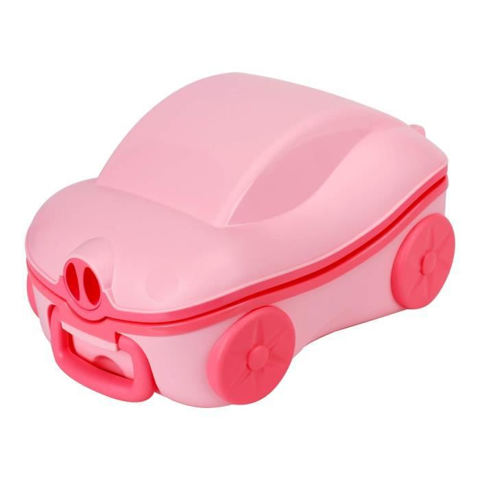 Glenmore Pot Enfant Pliable WC Bebe Voyage Toilette Portabl en Forme de Voiture Petit Bleu