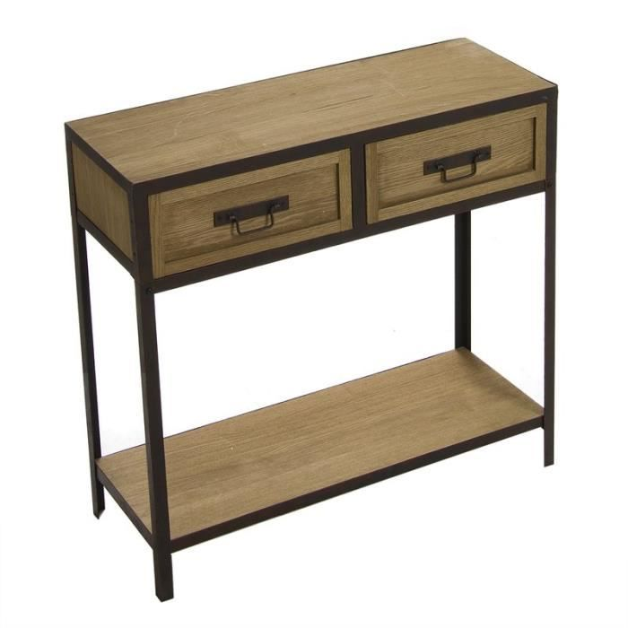 console style industriel achat vente console style. Black Bedroom Furniture Sets. Home Design Ideas