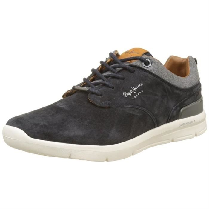 baskets jayden suede homme pepe jeans pms30389