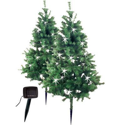 sapin noel led solaire x2 achat vente sapin arbre de no l cdiscount. Black Bedroom Furniture Sets. Home Design Ideas