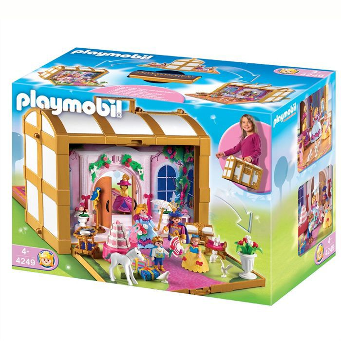 playmobil coffre de princesses transportable achat. Black Bedroom Furniture Sets. Home Design Ideas