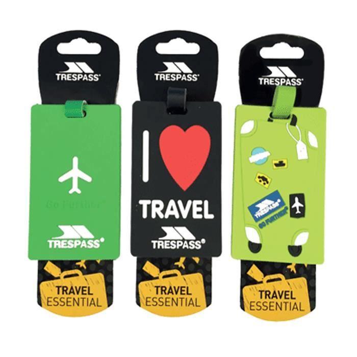 VALISE - BAGAGE Trespass - Étiquettes de valise TRAVELTAG 2016