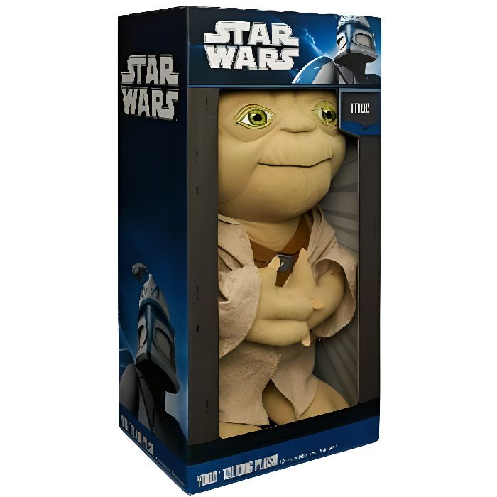 star wars peluche yoda parlante 40 cm achat vente. Black Bedroom Furniture Sets. Home Design Ideas
