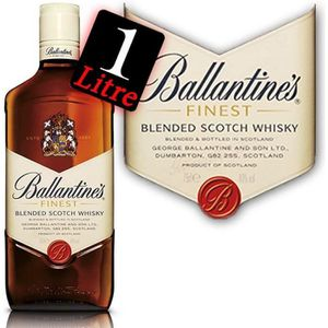 WHISKY BOURBON SCOTCH Ballantine's Finest 1 litre 40°