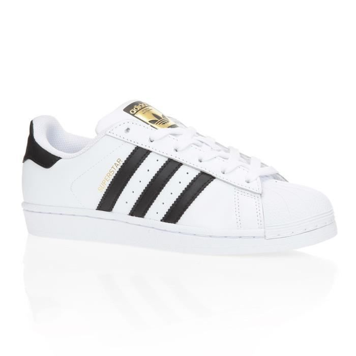 adidas originals baskets superstar chaussures mixte homme blanc et noir achat vente adidas. Black Bedroom Furniture Sets. Home Design Ideas