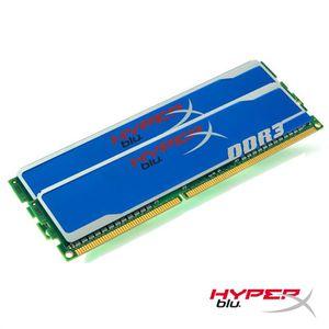 MÉMOIRE RAM Kingston 4Go DDR3 1600MHz CL9 HyperX Blu