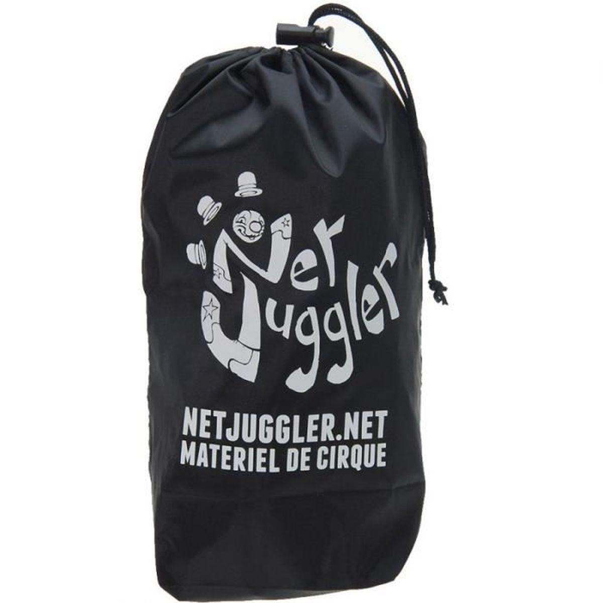 DIABOLO Diabolo Jester a roulements Rouge et Noir + Baguet