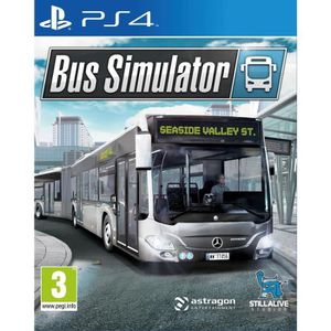 JEU PS4 Bus Simulator Jeu PS4