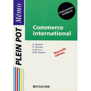 AUTRES LIVRES Commerce international