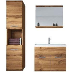 SALLE DE BAIN COMPLETE Meuble de salle de bain Montreal 60 cm lavabo Wota