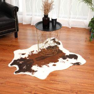 TAPIS Simulation Tapis en peau de vache Cowskin Imprimer