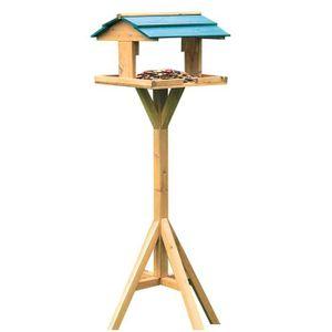 VOLIÈRE - CAGE OISEAU Birdhouse avec support Mangeoire à oiseaux Mangeoi
