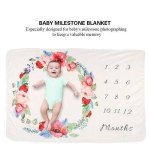 COUVERTURE - PLAID BÉBÉ 102*152cm Couverture photo de bébé Nouveau-Né, bel