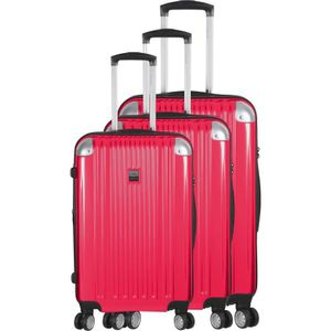 SET DE VALISES FRANCE BAG - Set de 3 valises  ABS/POLYCARBONATE F