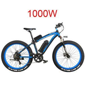 VTT 26 pouces électrique vélo de montagne mens Cruiser